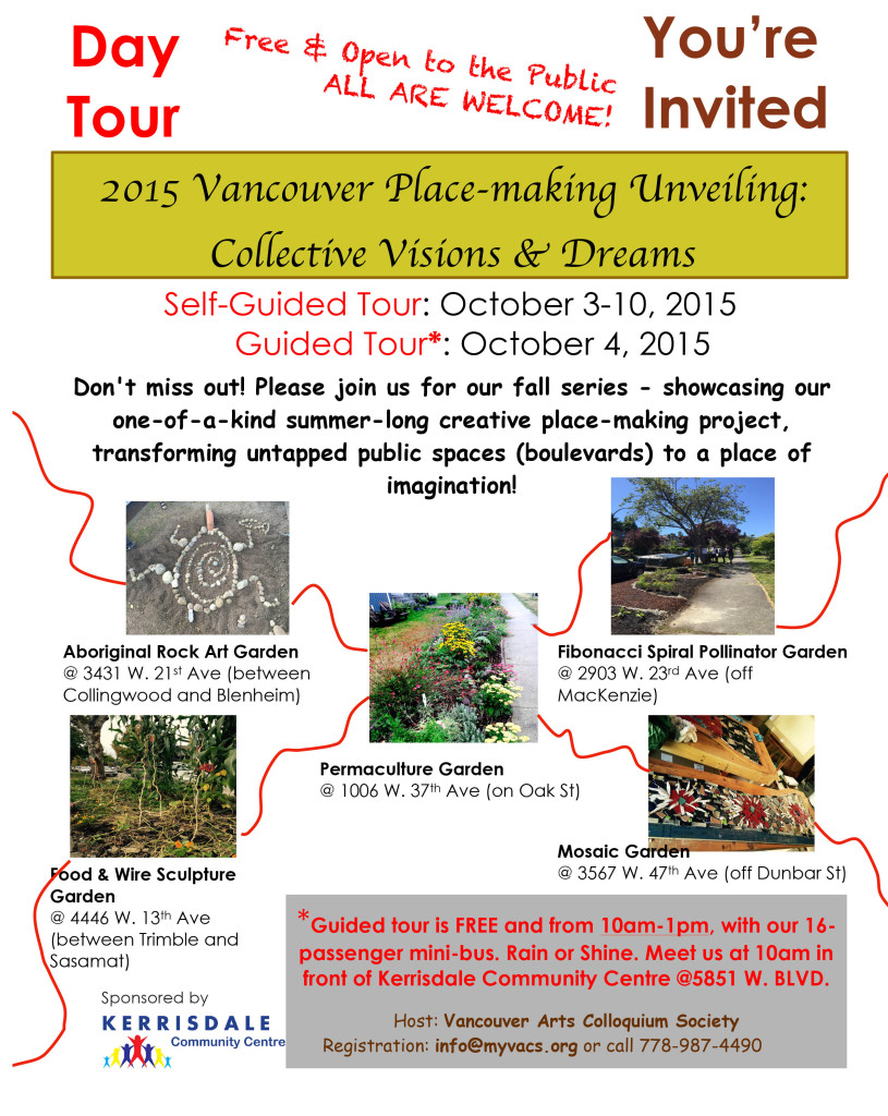 2015 Vancouver Place-making Unveiling