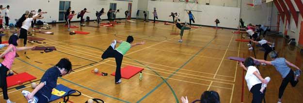 Aerobicsclass Kerrisdale Community Centre
