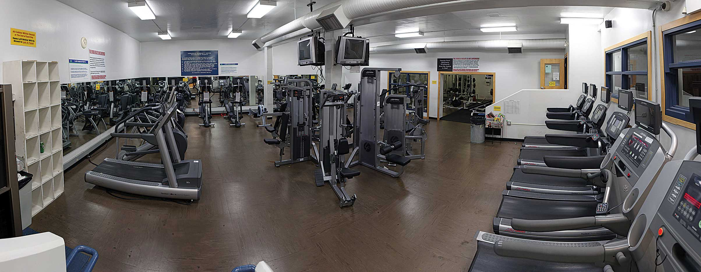 Exercise room kerrisdale community centre