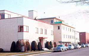 Kerrisdale history apartments in 60's