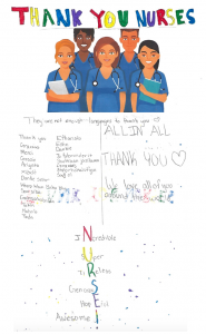Thank you Nurses - Kiki