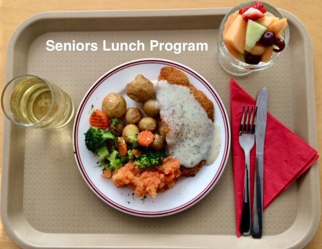 SENIORS LUNCH PROGRAM BI-WEEKLY MENU