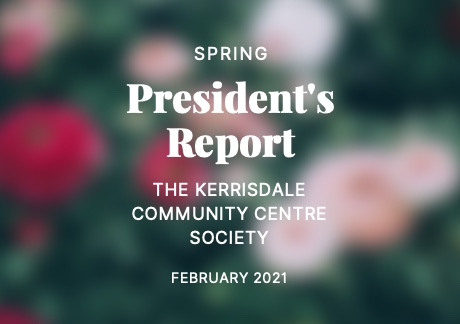 KCCS President's Report | Spring 2021