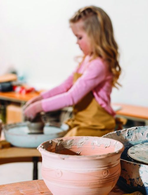 Pottery Camp  (6-12 yrs)