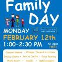 Family Day-Feb 12