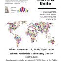 The Arts Unite – Nov 17