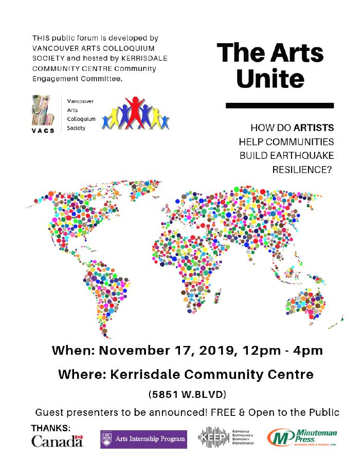 The Arts Unite – Nov 17