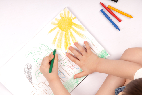 Preschool Drawing 3-5 yrs